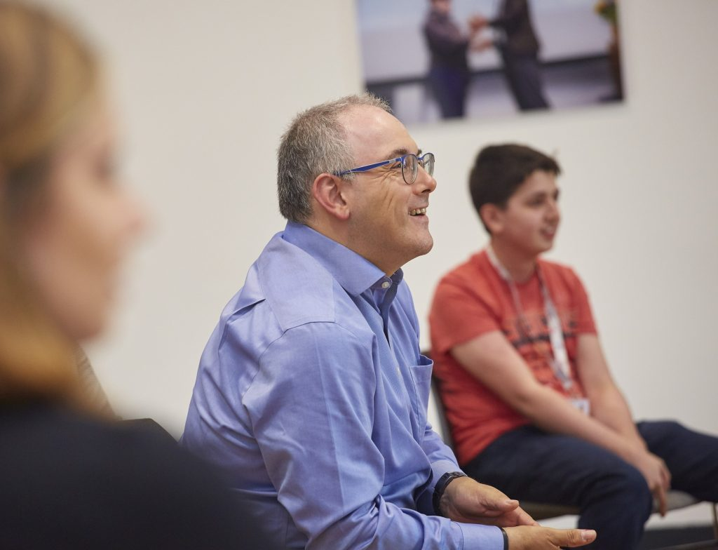 Robert Halfon held a question and answer session with students during his visit to Ron Dearing UTC.