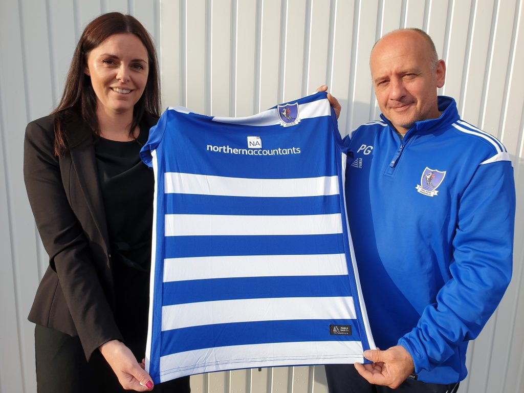 Hall Road Rangers shirt sponsor