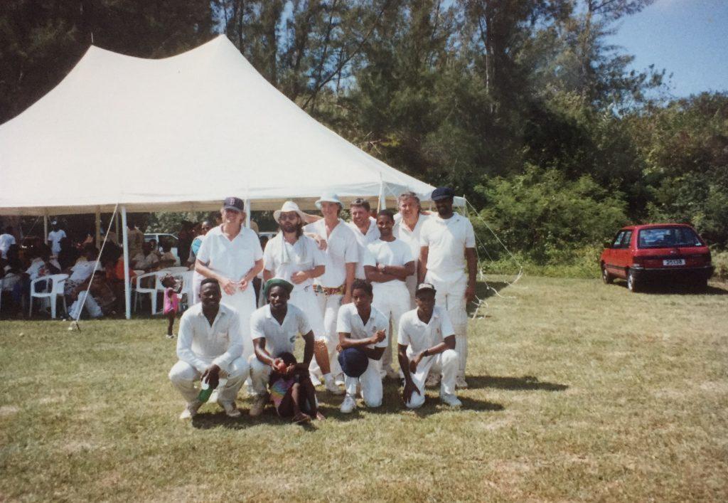 Cricket in Bermuda.