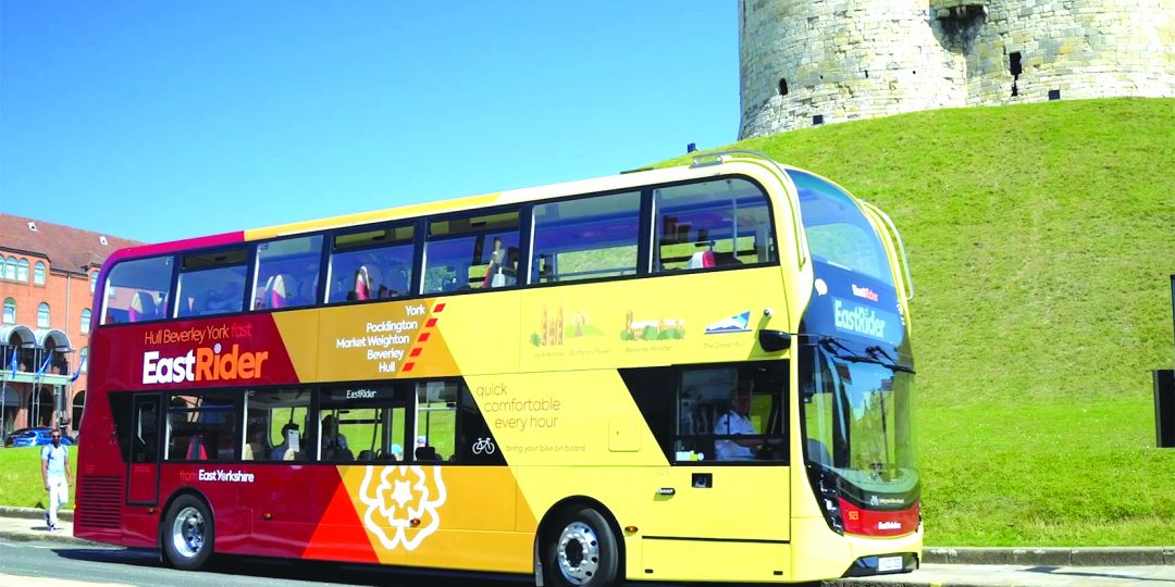 East Yorkshire ultra low emission buses