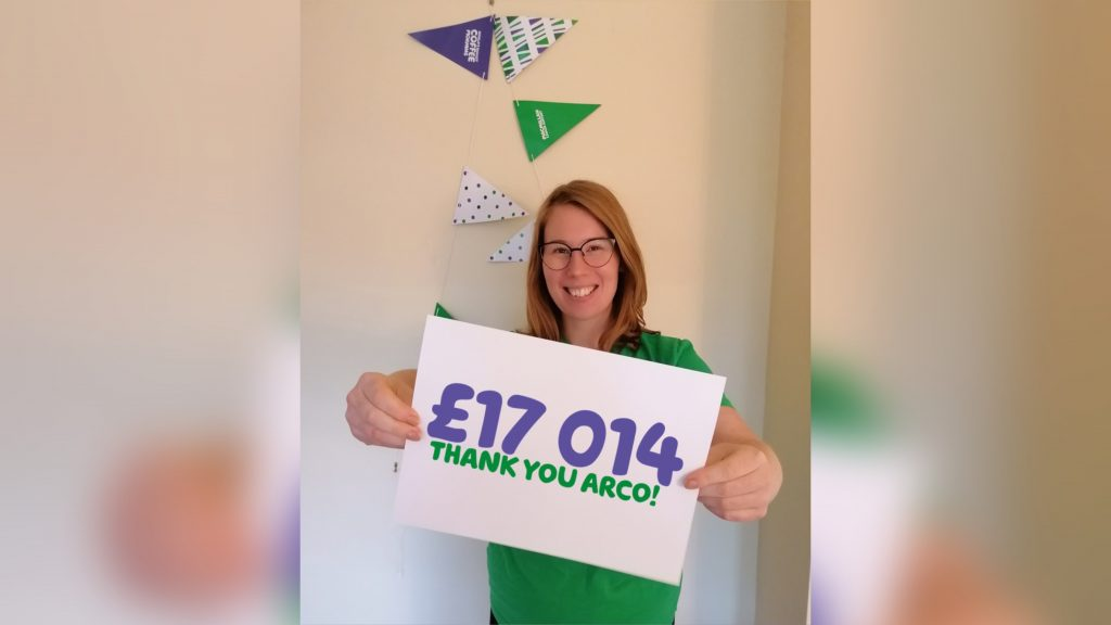 Hull-based Arco raised a record amount for MacMillan Cancer Support