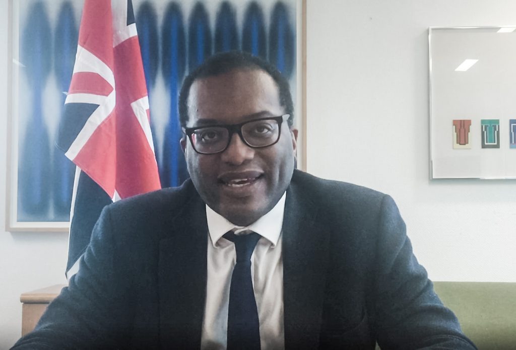 Kwasi Kwarteng, Minister for Business, Energy and Clean Growth.