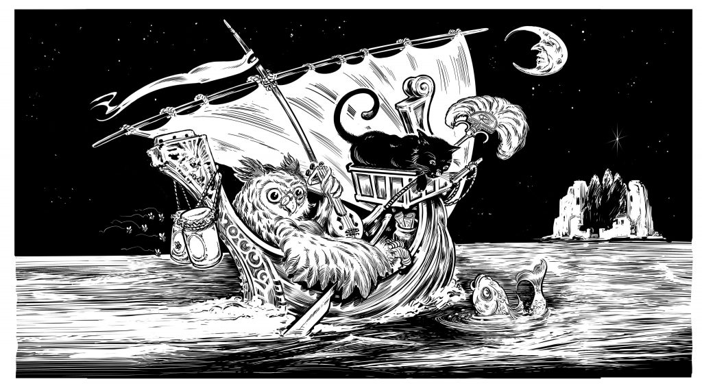 Readings from The Owl and the Pussycat is just one of the children's tales to be part of Maritime Tales Week.