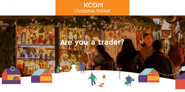 KCOM Christmas market website