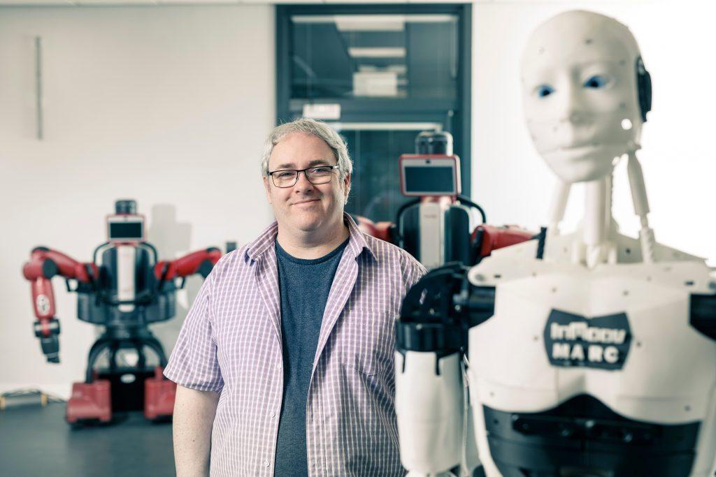 Prof. John Murray, a Professor in Robotics and Autonomous Systems at the University of Hull.