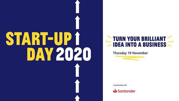 Start-Up Day 2020 - Thursday 19th November 2020.