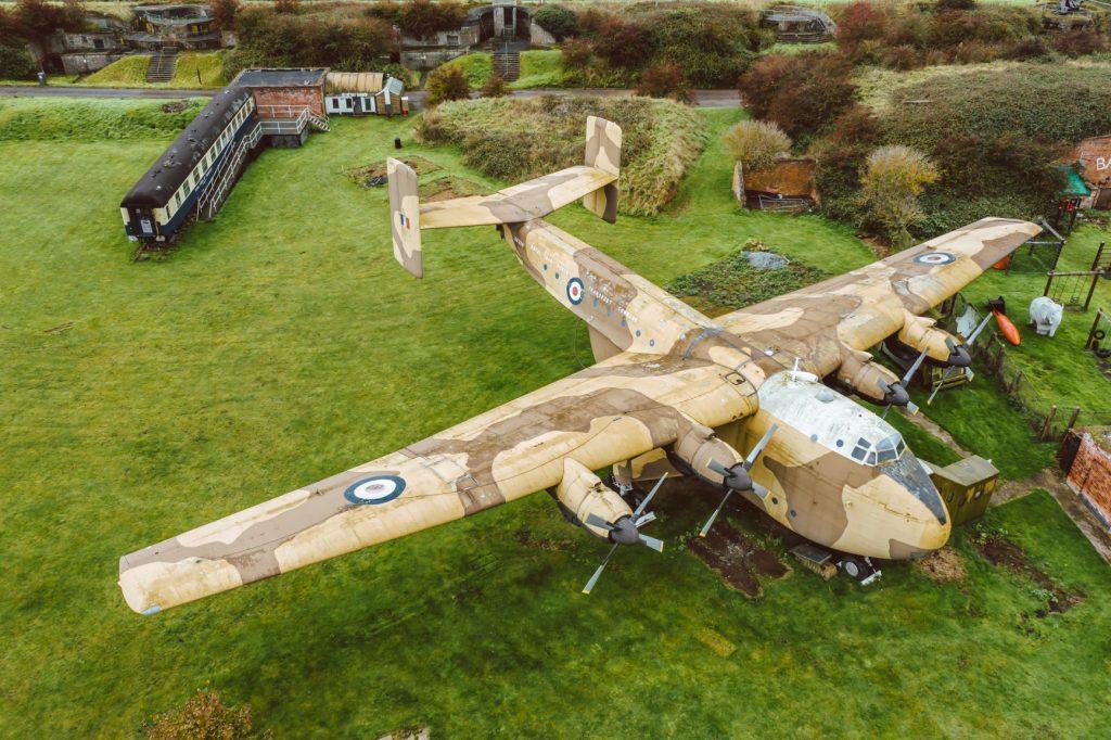 X259 Beverley Blackburn on site at Fort Paull.