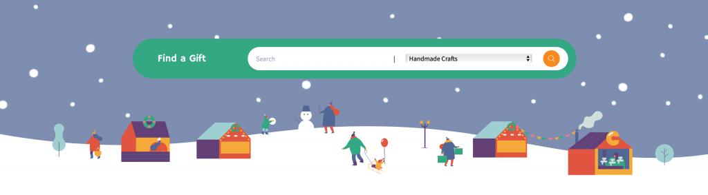 KCOM's Christmas virtual market.