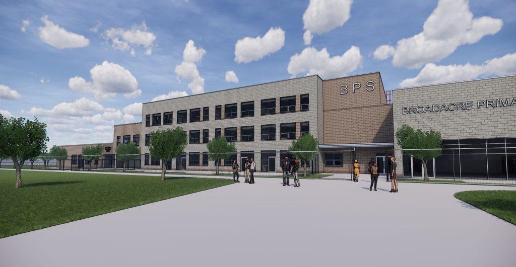 The new Broadacre Primary School.
