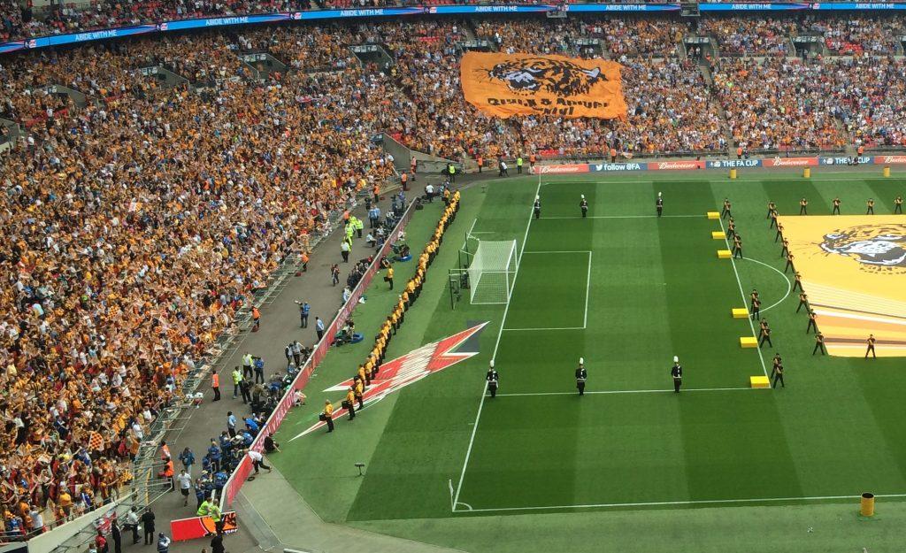 City at Wembley.