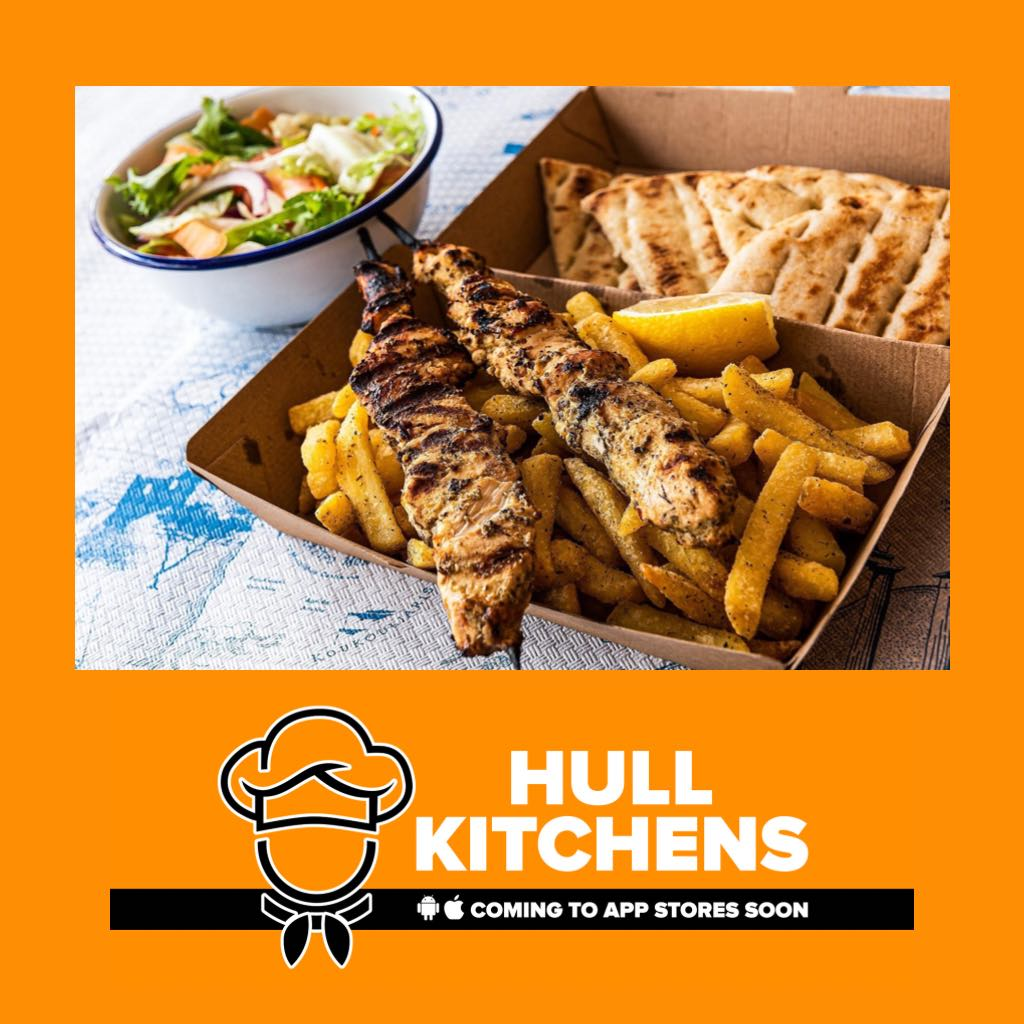 Hull's Kitchens, a new locally-run food ordering and delivery service.