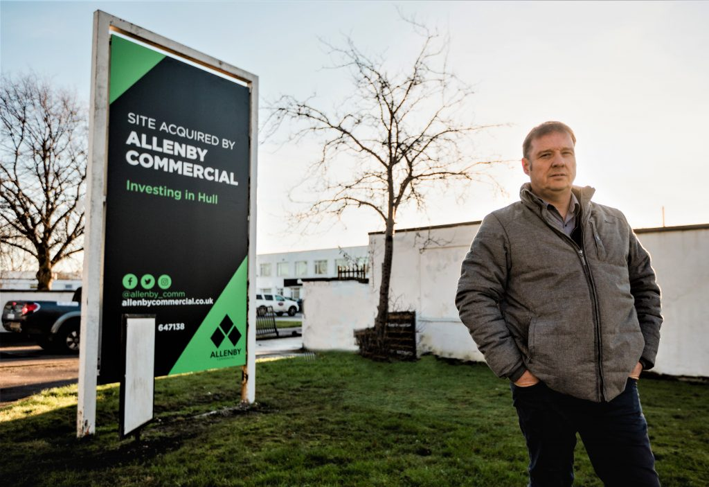 Allenby Commercial embarks on upgrade of business park at former army garage