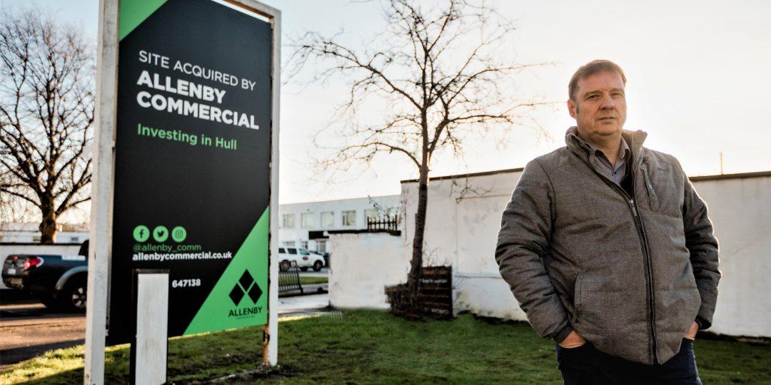Dale Gooderham, Asset Manager at Allenby Commercial