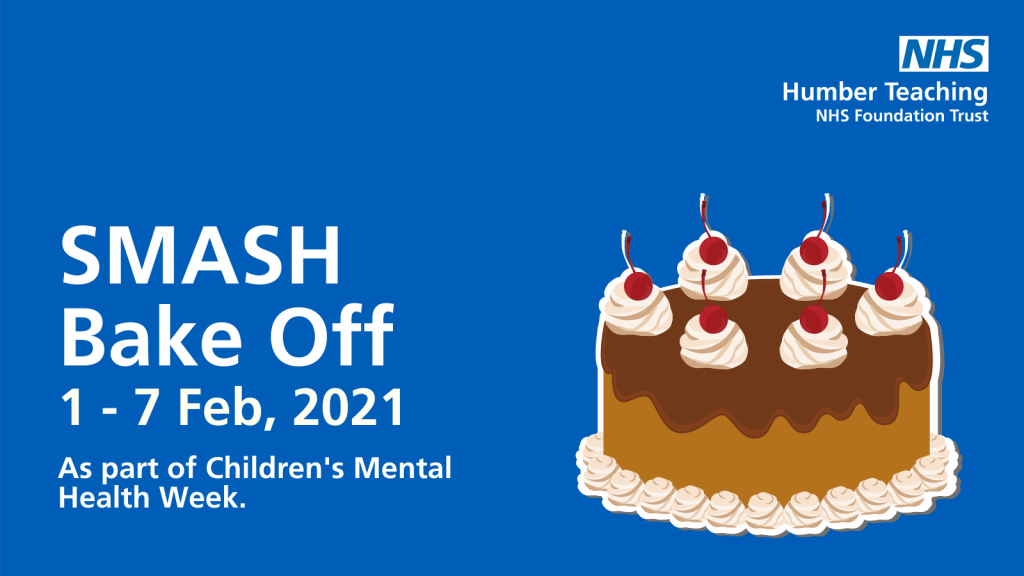 SMASH Bake Off, Children's Mental Health Week 2021.