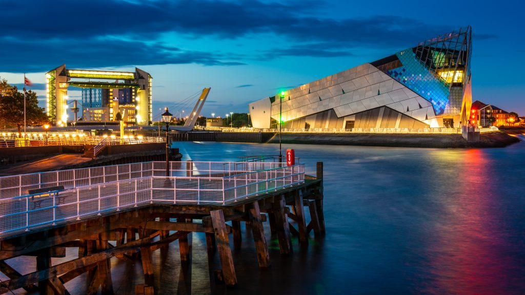 The Deep, at the mouth of the River Hull. Photo: Jerome Whittingham @photomoments