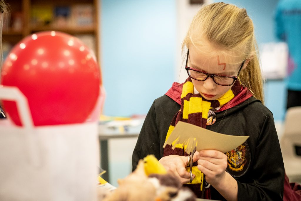 Harry Potter book night, Hull Libraries