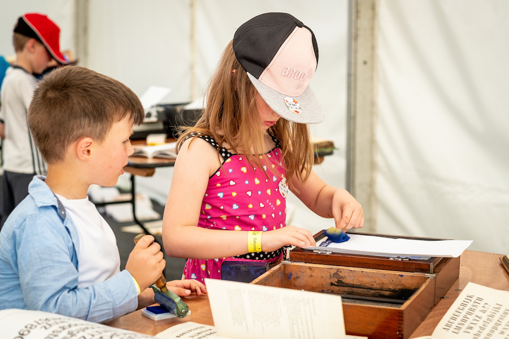 Hull Libraries' The Big Malarkey Festival. Photo: Jerome Whittingham @photomoments