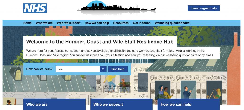 Humber, Coast and Vale Resilience Hub website.