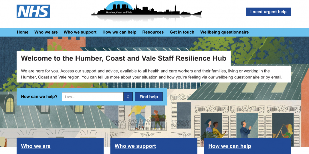 Humber, Coast and Vale Resilience Hub