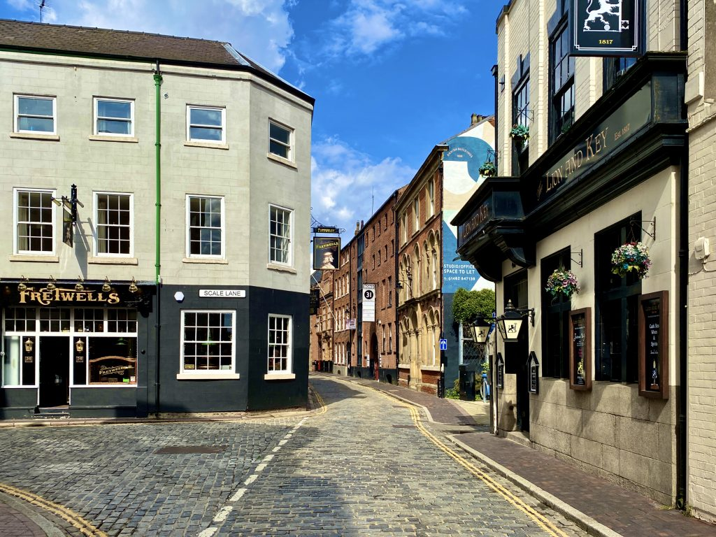 High Street, Hull. Photo: Jerome Whittingham @photomoments