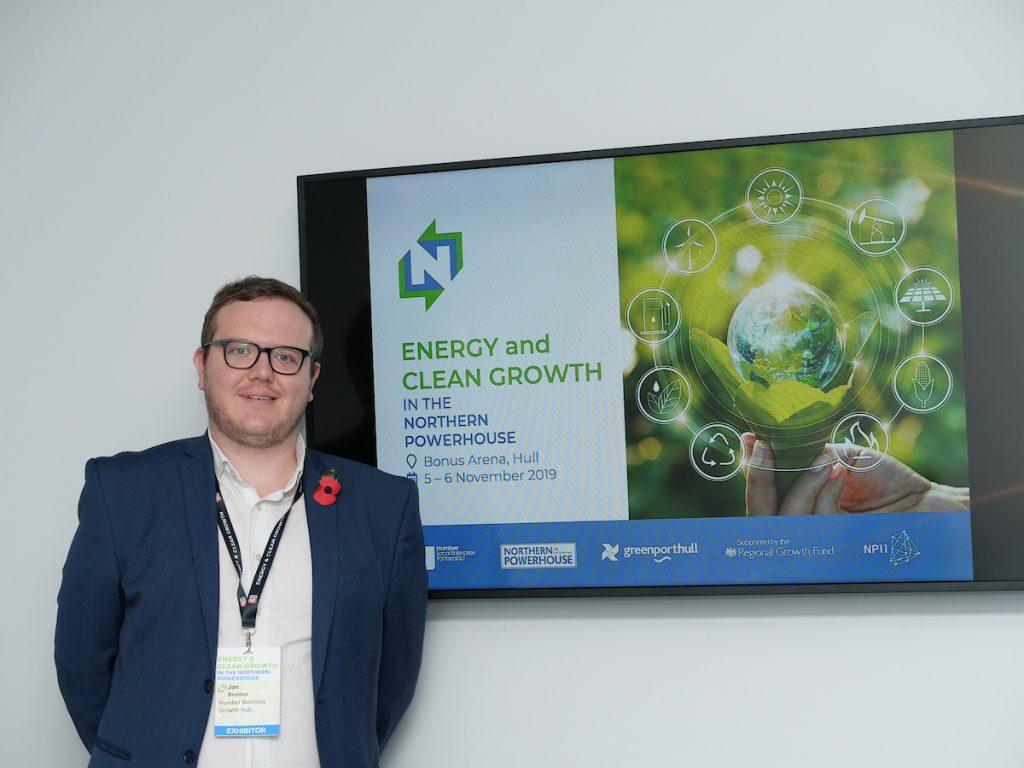 Jon Brunton, Growth Hub Manager at the Humber LEP.