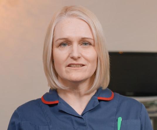 Julie Watson, Macmillan lead cancer nurse