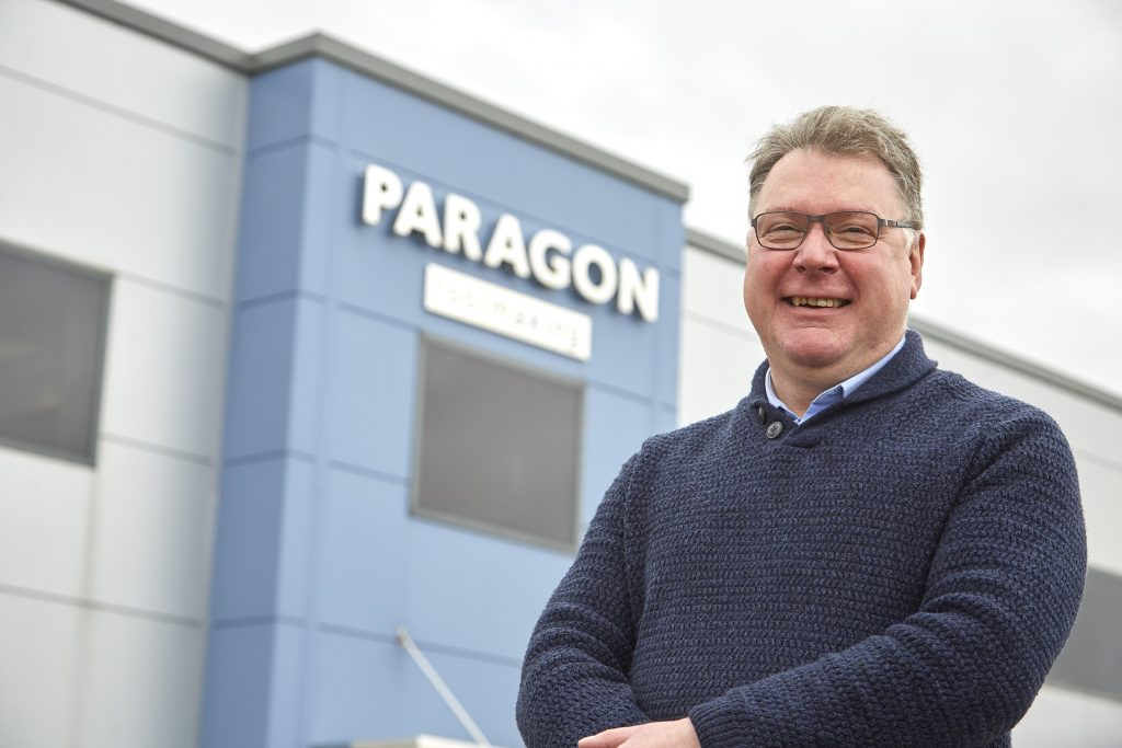 Paragon Toolmaking General Manager, Kevin Batty.