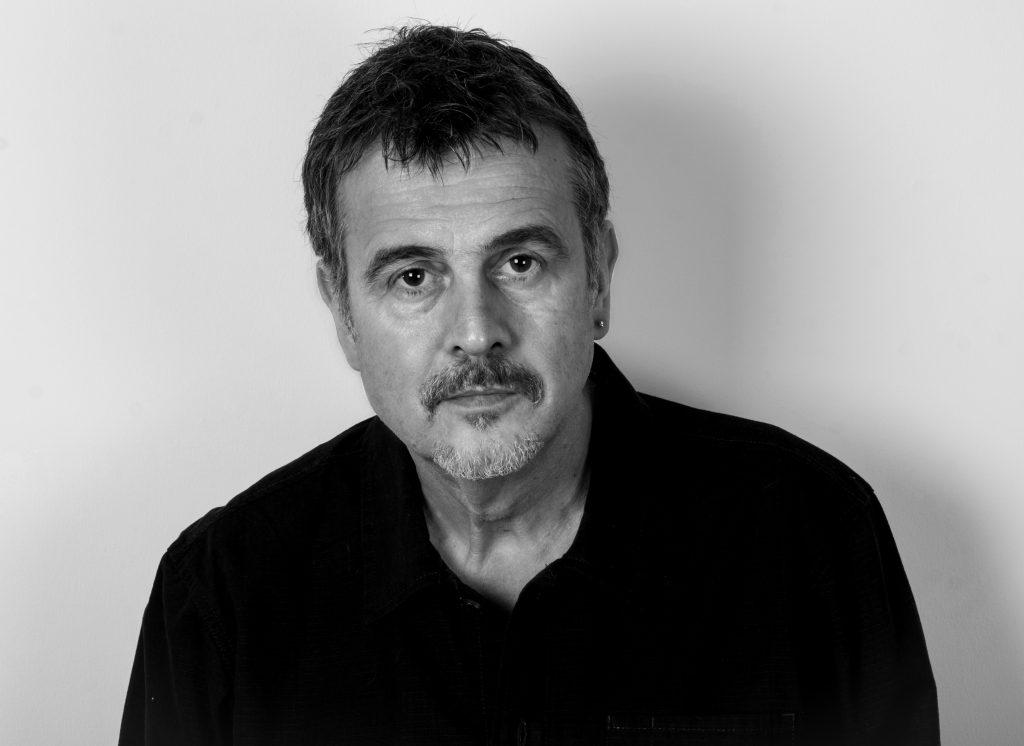 Crime fiction author, Mark Billingham.