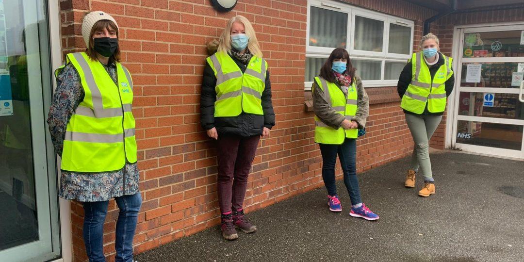 lateral flow testing volunteers