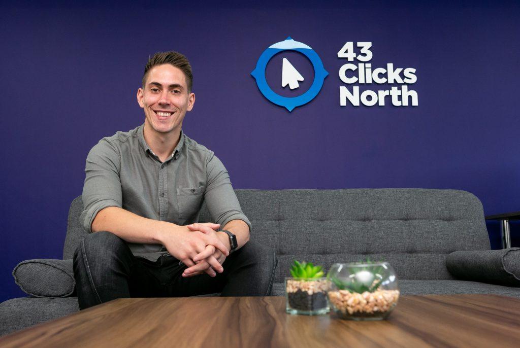 Mike Ellis, Managing Director of 43 Clicks North.